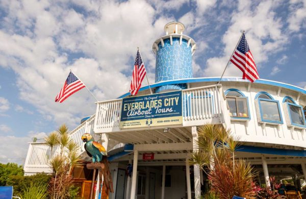 Everglades City Airboat Tours building facilities