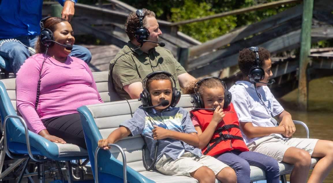 everglades boat tours - family fun